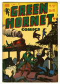 "Golden Age (1938-1955):Adventure, Green Hornet Comics #25 Davis Crippen (""D"" Copy) pedigree (Harvey, 1940) Condition: FN+...."