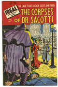 """Golden Age (1938-1955):Adventure, Ideal #2 Davis Crippen (""""D"""" Copy) pedigree (Timely, 1948) Condition: VF. The Corpses of Dr. Sacotti. Overstreet 2006 VF 8.0 ..."""