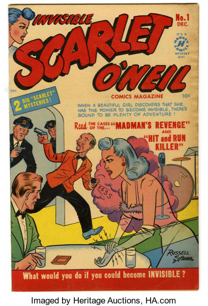 Invisible Scarlet O'Neil #1 and 2 Group - Davis Crippen (