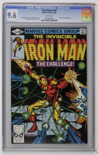 Iron Man #134 (Marvel, 1980) CGC NM+ 9.6 White pages. Titanium Man appearance. Bob Layton cover and art. Overstreet 2006...