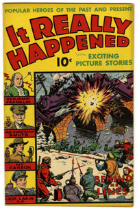 """It Really Happened #1 Davis Crippen (""""D"""" Copy) pedigree (Wm. H. Wise & Co., 1944) Condition: FN/VF. Kit Ca..."""