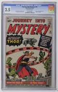 Silver Age (1956-1969):Superhero, Journey Into Mystery #83 (Marvel, 1962) CGC GD+ 2.5 Off-white pages. The origin and first appearance of Thor (Dr. Don Blake)...