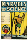 "Golden Age (1938-1955):Non-Fiction, Marvels of Science #2 Davis Crippen (""D"" Copy) pedigree (Charlton,1946) Condition: VF-. Overstreet 2006 VF 8.0 value = $78...."