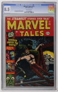Golden Age (1938-1955):Horror, Marvel Tales #111 (Atlas, 1953) CGC VF+ 8.5 Off-white pages. BillEverett cover. Jerry Robinson and Jack Abel art. Overstree...
