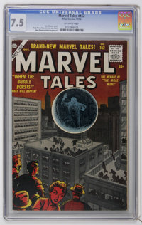 Marvel Tales #152 (Atlas, 1956) CGC VF- 7.5 Off-white pages. Joe Maneely cover. Wally Wood, Gray Morrow, and Jack Abel a...