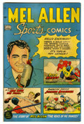 "Mel Allen Sports Comics 5 (#1) Davis Crippen (""D"" Copy) pedigree (Standard, 1949) Condition: FN. George Tuska..."