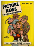 "Golden Age (1938-1955):Non-Fiction, Picture News #5 Davis Crippen (""D"" Copy) pedigree (Lafayette StreetCorp., 1946) Condition: VF. Hank Greenberg story. Overst..."