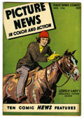 "Golden Age (1938-1955):Non-Fiction, Picture News #7 Davis Crippen (""D"" Copy) pedigree (Lafayette StreetCorp., 1946) Condition: VF. Overstreet 2006 VF 8.0 value..."