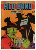 "Golden Age (1938-1955):Horror, Red Band Comics #3 Davis Crippen (""D"" Copy) pedigree (Enwil, 1945)Condition: FN...."