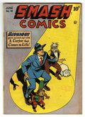 "Golden Age (1938-1955):Superhero, Smash Comics #59 Davis Crippen (""D"" Copy) pedigree (Quality, 1939) Condition: FN...."