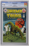 Bronze Age (1970-1979):Horror, Swamp Thing #13 (DC, 1974) CGC NM+ 9.6 Off-white pages. NestorRedondo cover and art. Overstreet 2006 NM- 9.2 value = $20. C...