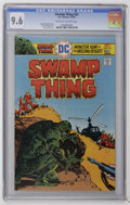 Bronze Age (1970-1979):Horror, Swamp Thing #22 (DC, 1976) CGC NM+ 9.6 Off-white to white pages.Ernie Chan cover. Overstreet 2006 NM- 9.2 value = $20. CGC ...