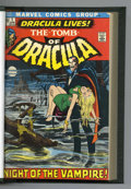 Bronze Age (1970-1979):Horror, Tomb of Dracula/Werewolf by Night Bound Volume (Marvel, 1971-73).Copies of Tomb of Dracula #1 (first appearance of Drac...