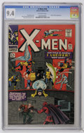 Silver Age (1956-1969):Superhero, X-Men #20 (Marvel, 1966) CGC NM 9.4 Off-white pages....