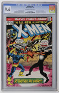 Bronze Age (1970-1979):Superhero, X-Men #97 (Marvel, 1976) CGC NM+ 9.6 Off-white to white pages. First appearance of Lilandra (face is not shown). Rich Buckle...