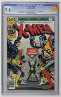 Bronze Age (1970-1979):Superhero, X-Men #100 (Marvel, 1976) CGC NM+ 9.6 Off-white to white pages. Chris Claremont story. Dave Cockrum story and art. Old vs. n...