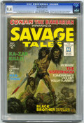 Magazines:Superhero, Savage Tales #1 (Marvel, 1971) CGC NM 9.4 Off-white to whitepages....