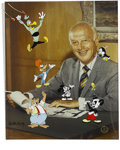 "Animation Art:Limited Edition Cel, ""Meet My Boss, Walter Lantz"" Limited Edition Hand-Painted Cel#114/200 Original Art (Walter Lantz Productions, 1991). This l..."