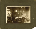 Basketball Collectibles:Others, Circa 1908 James Naismith's Study Cabinet Photograph with Handwritten Notation on Verso. Terrific image of Naismith's study...