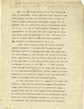 """Basketball Collectibles:Others, 1930's James Naismith Handwritten Comments on """"The Rules."""" Whilenot a complete work, this group of seven handwritten pages..."""