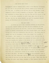 1930's James Naismith Typed Manuscript with Handwritten Notes re: Evolution of Basketball. Two short manuscripts represe...