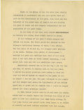 Basketball Collectibles:Others, 1930's James Naismith Typed Manuscript with Handwritten Notes re:Evolution of Basketball. Thirteen typed pages with numero...