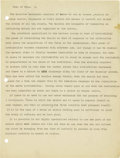 """Basketball Collectibles:Others, 1930's James Naismith Typed Manuscript with Handwritten Notes re: """"The Philosophy of Sport."""" Fifteen typed pages with numer..."""