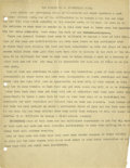 Basketball Collectibles:Others, 1930's James Naismith Typed Manuscript with Handwritten Notes re:The Early Game. Three typed pages discuss the spread of t...