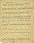 Basketball Collectibles:Others, 1930's James Naismith Typed Manuscript with Handwritten Notes re:Basketball Rules. Assorted text was intended for inclusio...