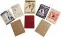 Basketball Collectibles:Others, James Naismith's Personal Collection of Basketball Guides Lot of 8. Assortment of early basketball guides includes: 1) 190...