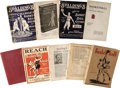 Basketball Collectibles:Others, James Naismith's Personal Reach & Spalding's Athletic GuidesLot of 9. Assortment of Official guides and more include: 1) 1...