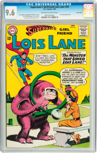 Superman's Girlfriend Lois Lane #54 Twin Cities pedigree (DC, 1965) CGC NM+ 9.6 Off-white to white pages