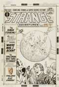 Original Comic Art:Covers, Murphy Anderson Strange Adventures #236 Cover Original Art(DC, 1972)....