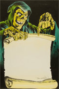 Original Comic Art:Splash Pages, Bernie Wrightson Stephen King's Creepshow Table of ContentsSplash Page Colored Illustration Original ...