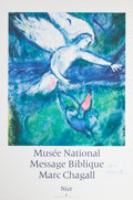 Prints:European Modern, After MARC CHAGALL (Belorussian, 1887-1985). Musee NationalMessage Biblique Marc Chagall, Nice. Offset lithographic exh...