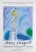 Prints:European Modern, After MARC CHAGALL (Belorussian, 1887-1985). Marc ChagallPeintures bibliques recentes (1966-1976), 1977. Offsetlithogr...