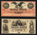 Obsoletes By State:Louisiana, New Orleans, LA- Canal Bank $10; $50. ... (Total: 2 notes)