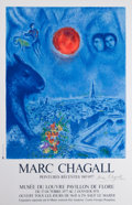 Prints:European Modern, After MARC CHAGALL (Belorussian, 1887-1985). Marc ChagallPeintures Recentes 1967-1977, 1977. Offset lithographicexhibi...
