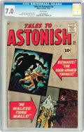 Silver Age (1956-1969):Mystery, Tales to Astonish #26 (Marvel, 1961) CGC FN/VF 7.0 White pages....