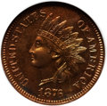 Proof Indian Cents, 1876 1C PR65 Red and Brown NGC. Ex: Eagle Eye Photo Seal. NGC Census: (92/32). PCGS Population (46/8). Mintage: 1,150. Numi...