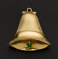 Estate Jewelry:Pendants and Lockets, Bell Form 14k Gold Locket/Charm. ...