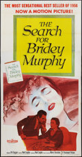 """Movie Posters:Drama, The Search for Bridey Murphy (Paramount, 1956). Three Sheet (41"""" X 81""""). Drama.. ..."""