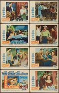 """Movie Posters:Western, North to Alaska (20th Century Fox, 1960). Lobby Card Set of 8 (11"""" X 14""""). Western.. ... (Total: 8 Items)"""