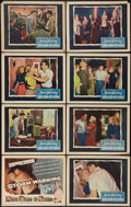 """Movie Posters:Drama, Storm Warning (Warner Brothers, 1951). Lobby Card Set of 8 (11"""" X 14""""). Drama.. ... (Total: 8 Items)"""