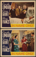 "Movie Posters:Romance, In Name Only (RKO, 1939). Lobby Cards (2) (11"" X 14""). Romance.. ... (Total: 2 Items)"