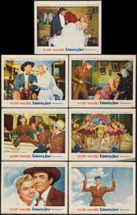 "Calamity Jane (Warner Brothers, 1953). Lobby Cards (7) (11"" X 14""). Musical. ... (Total: 7 Items)"