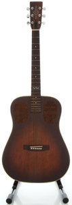 Musical Instruments:Acoustic Guitars, Circa 1980's Alvarez Sunburst Acoustic Guitar, Serial #000001....