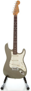 Musical Instruments:Electric Guitars, 1999 Fender Stratocaster USA Silver Solid Body Electric Guitar,Serial #N986271....