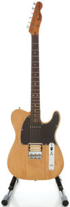Musical Instruments:Electric Guitars, Circa 1971 Fender Telecaster Refinished Solid Body Electric Guitar,Serial #326972....