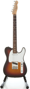 Musical Instruments:Electric Guitars, 1988 Fender Telecaster Sunburst Solid Body Electric Guitar, Serial#E802594....